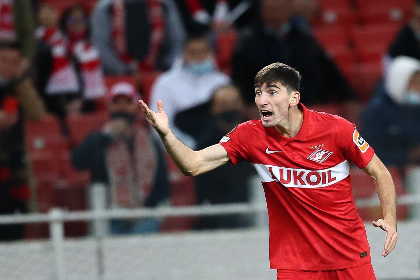 Представители Бакаева опровергли информацию о желании игрока получать € 2 млн в «Спартаке»
