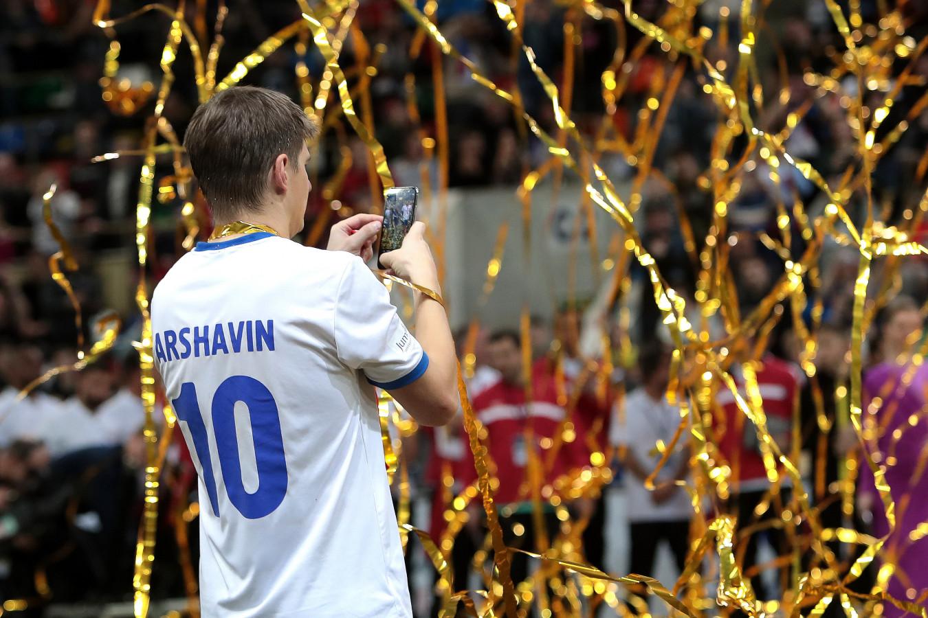 Аршавин: я был и очень умным, и очень ленивым футболистом. В «Зените» был лучшим во всём
