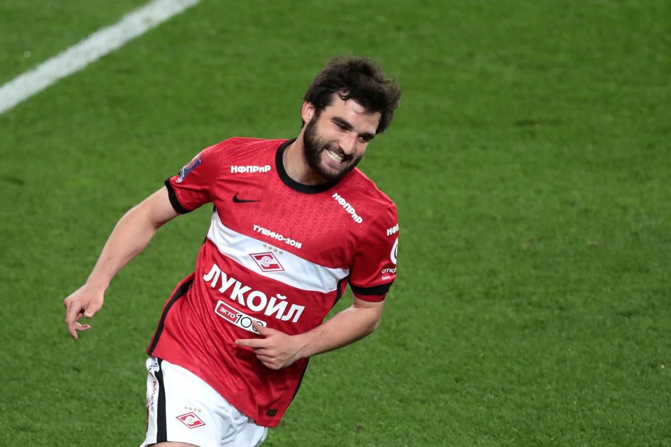 Георгий Джикия станет капитаном сборной России в матче Лиги наций с Турцией