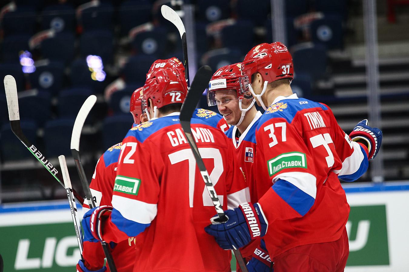 Сборная России всухую обыграла Беларусь, одержав вторую победу подряд