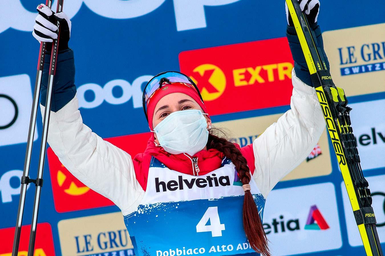 Лыжница Юлия Ступак объяснила, зачем танцует на подиуме