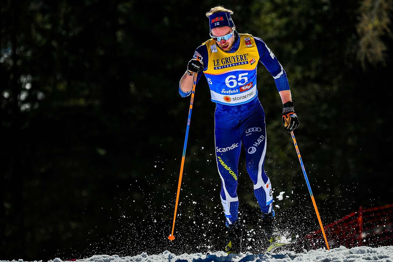 Финский лыжник Мяки отреагировал на грубое слово Губерниева в адрес его отца
