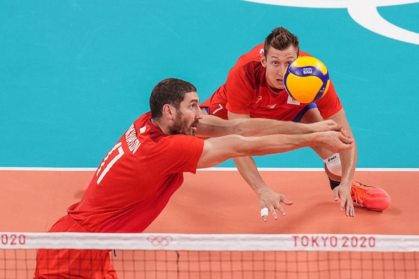 Стал известен соперник мужской сборной России по волейболу в полуфинале ОИ-2020 в Токио