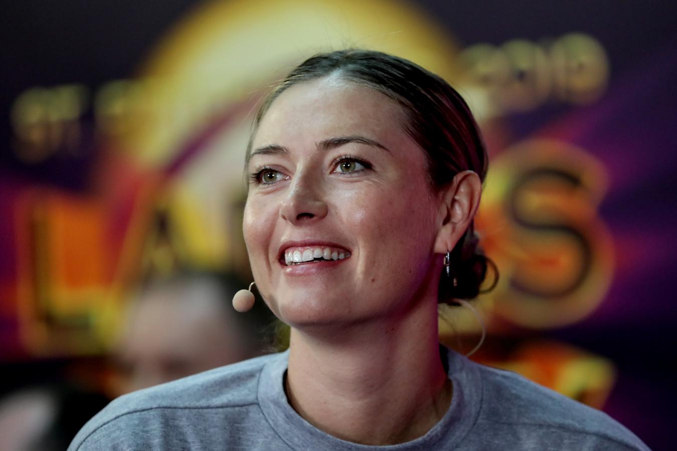 Мария Шарапова сообщила о помолвке