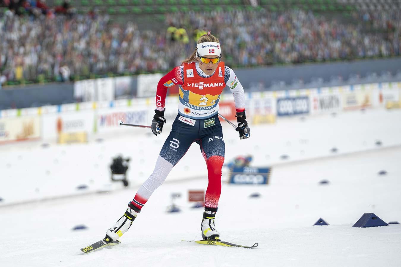 Йохауг отреагировала на предложение немецкого тренера снимать с гонок слишком худых лыжниц