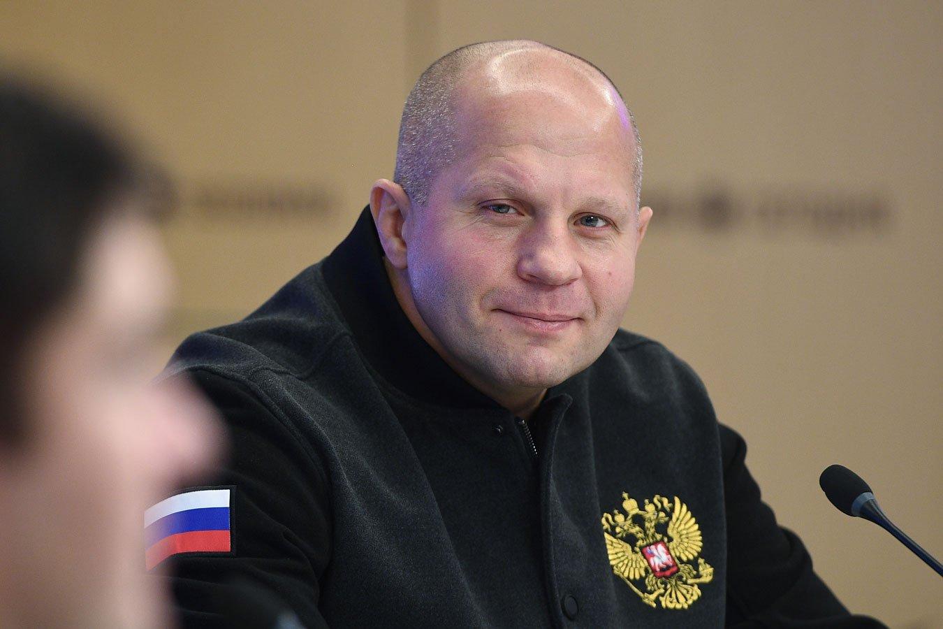Фёдор Емельяненко проведёт бой 23 октября в Москве