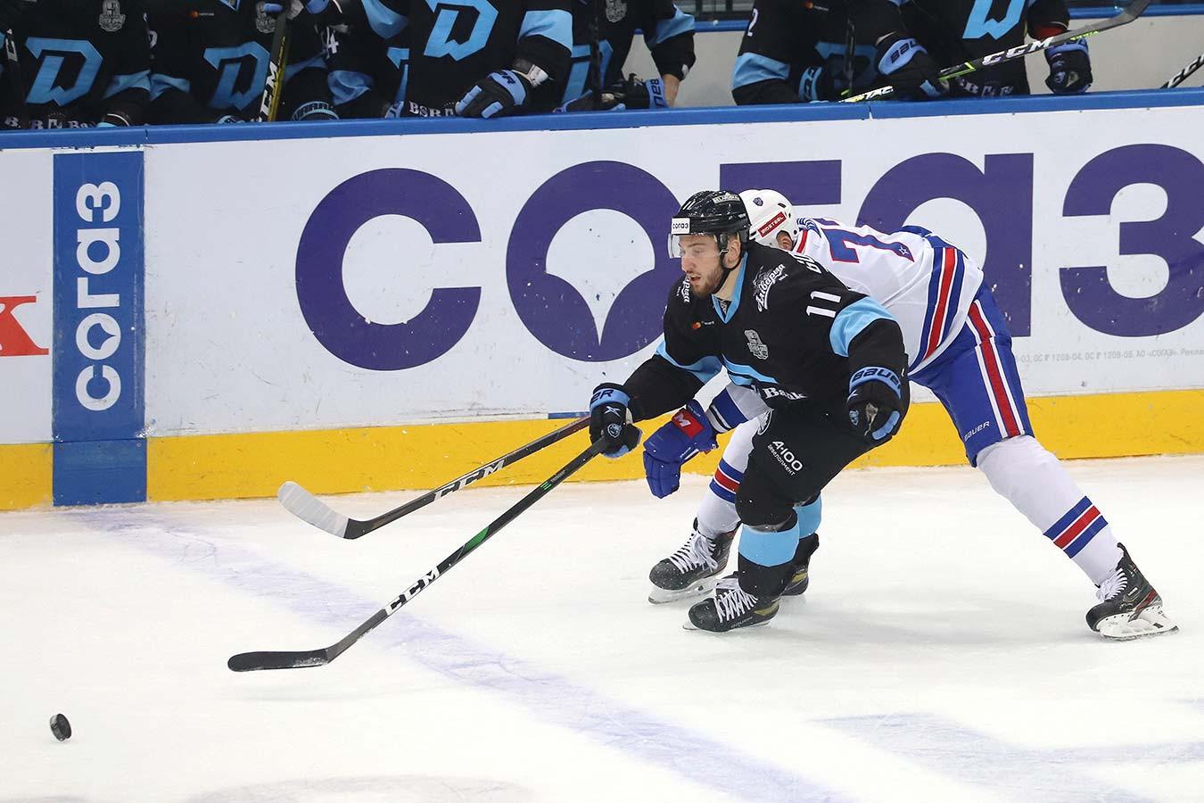 Гол Мосалёва принёс минскому «Динамо» первую победу в серии со СКА