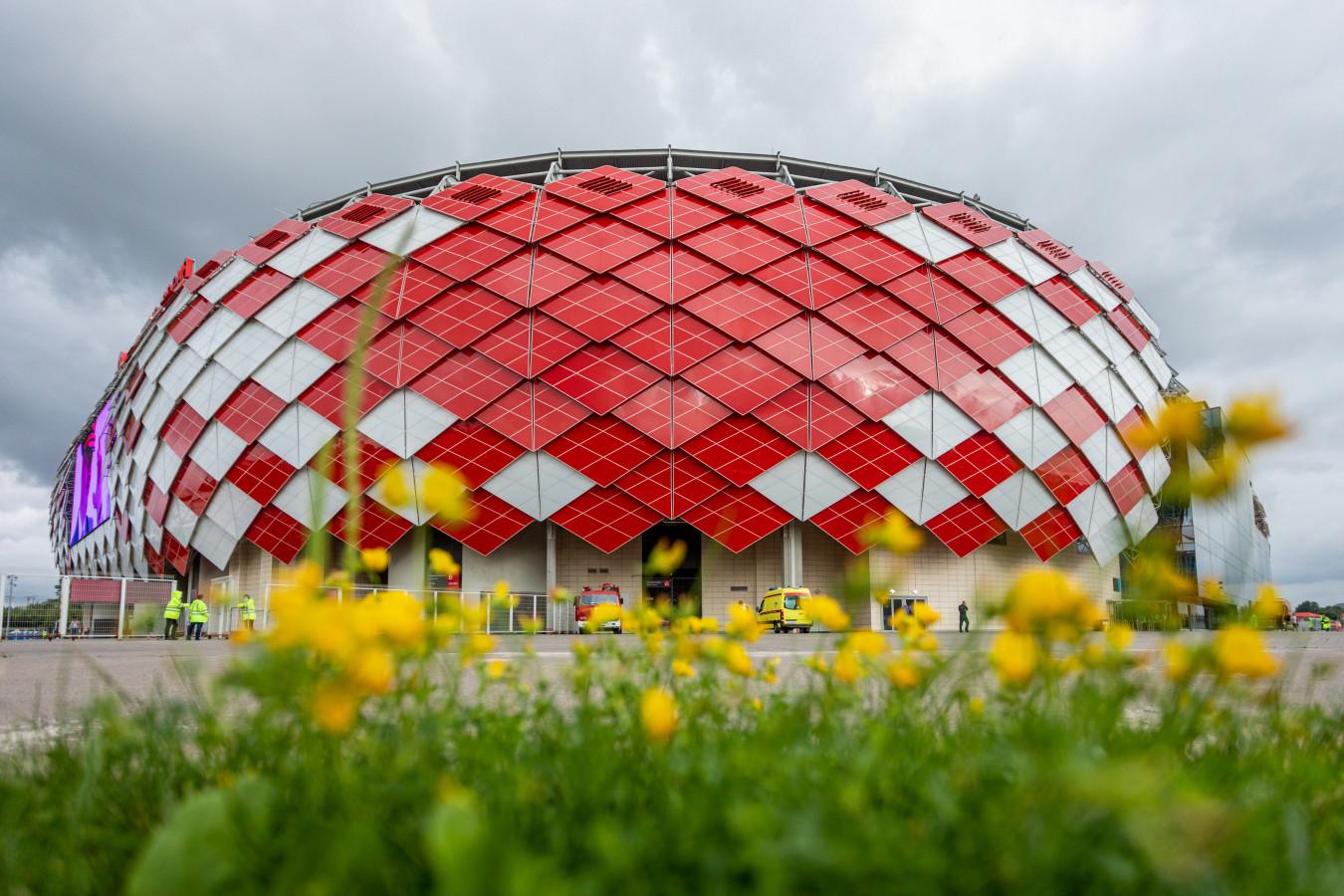 Стадион «Спартака» официально переименован