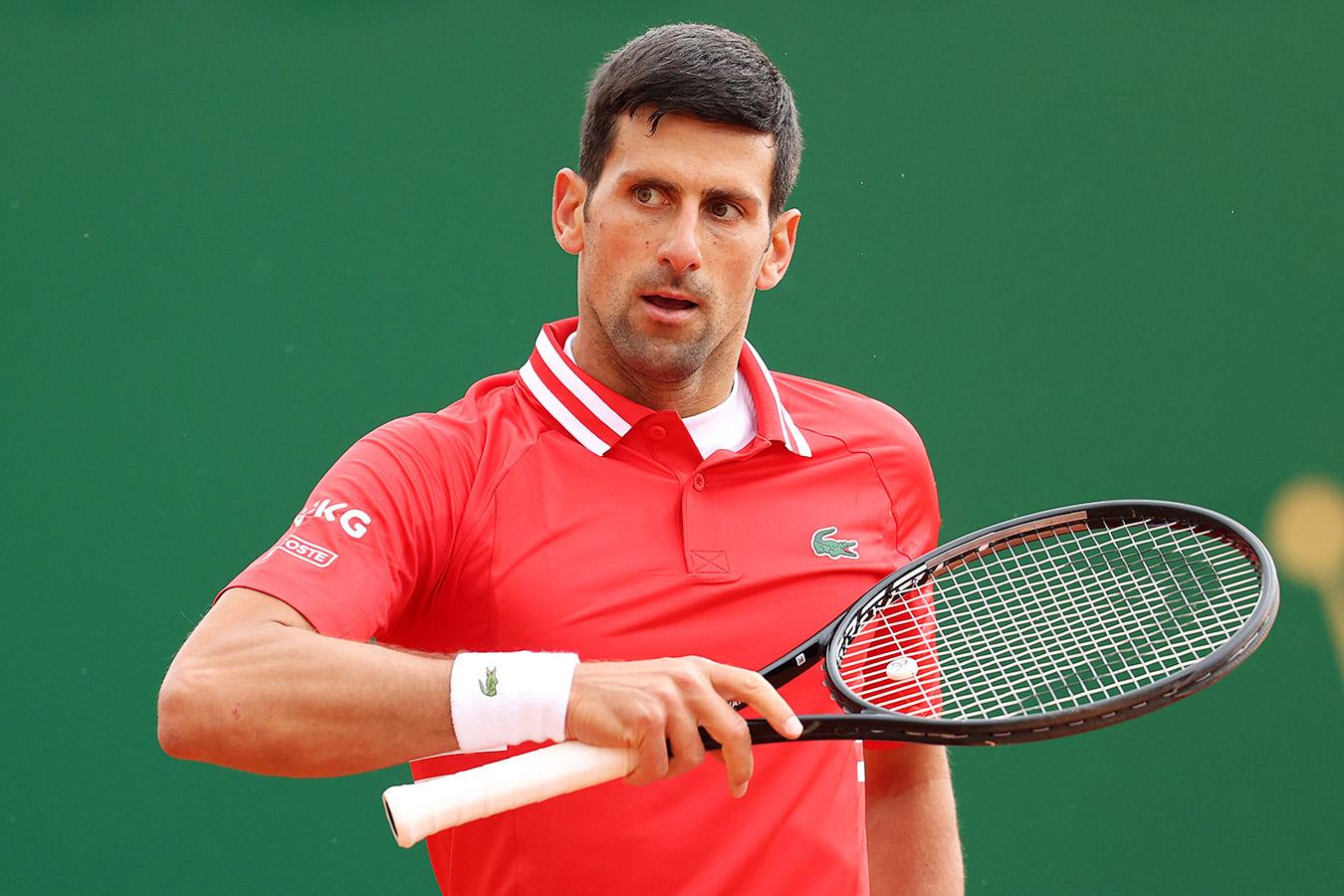 Новак Джокович сенсационно проиграл в третьем круге «Мастерса» в Монте-Карло