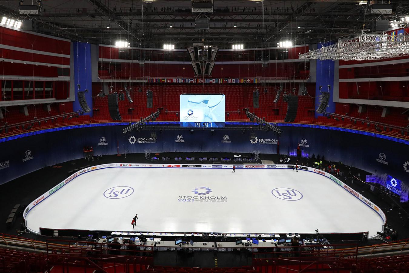На чемпионате мира по фигурному катанию выявлен первый положительный тест на COVID-19