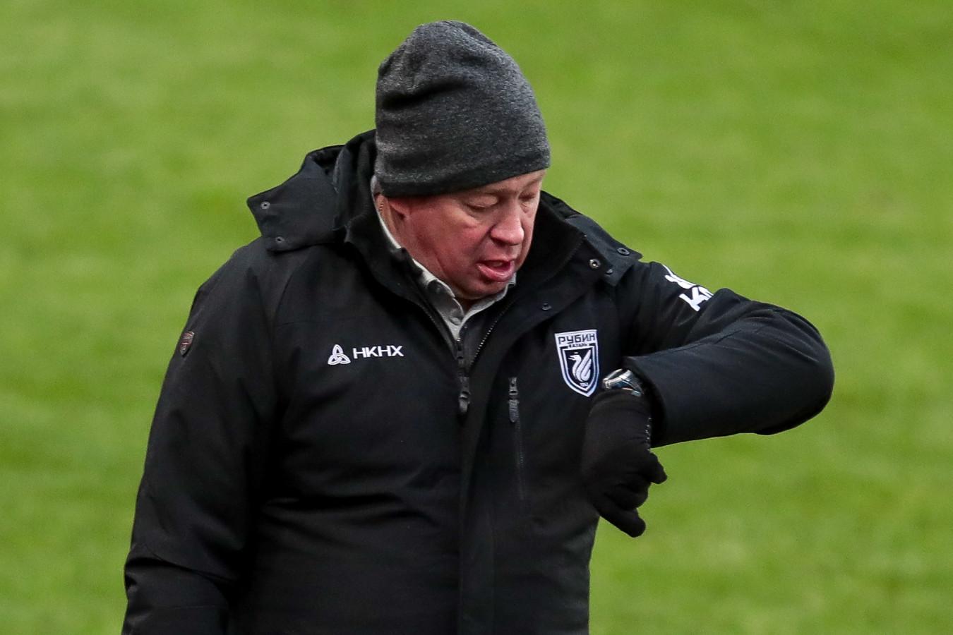 Гендиректор «Рубина» рассказал, возможен ли уход Слуцкого из клуба