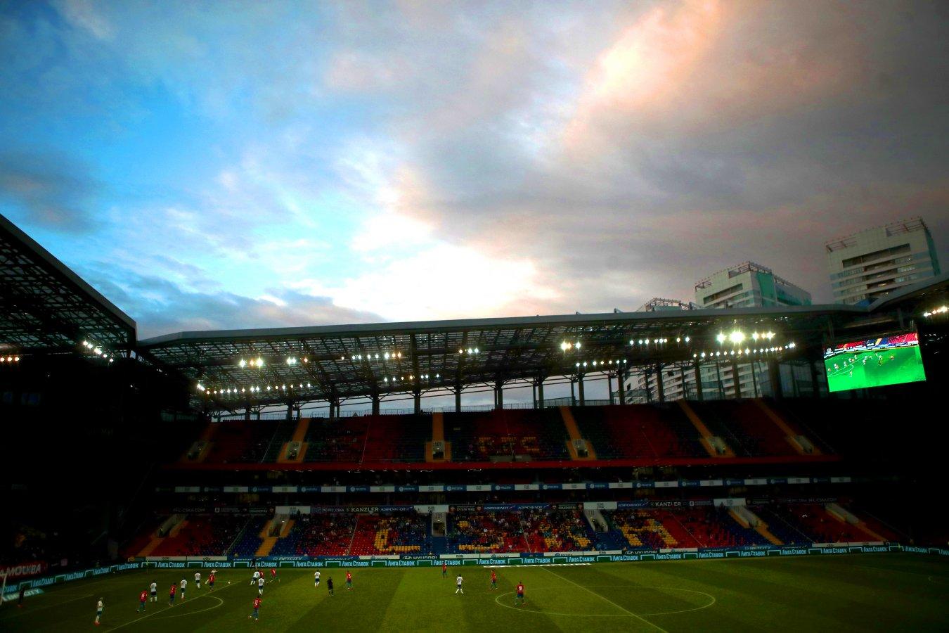Стало известно число зрителей, которые смогут посетить матч ЦСКА со «Спартаком»