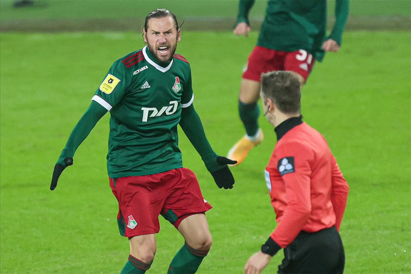 Смолов «стрелял» после гола, Крыховяк скалился на Матюнина. Яркие фото «Локо» – «Сочи»