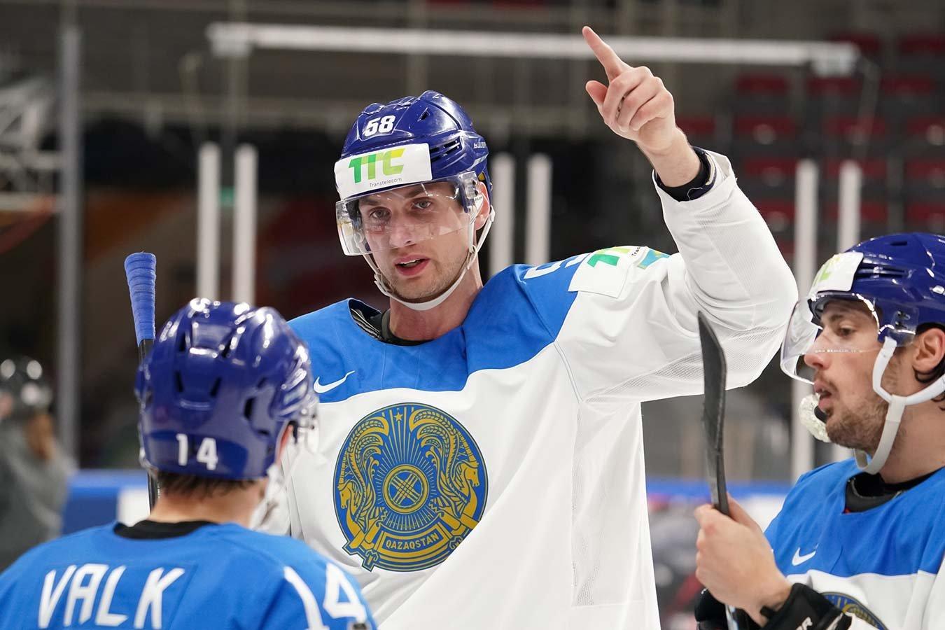 Сборная Казахстана лишилась шансов на выход в плей-офф чемпионата мира по хоккею