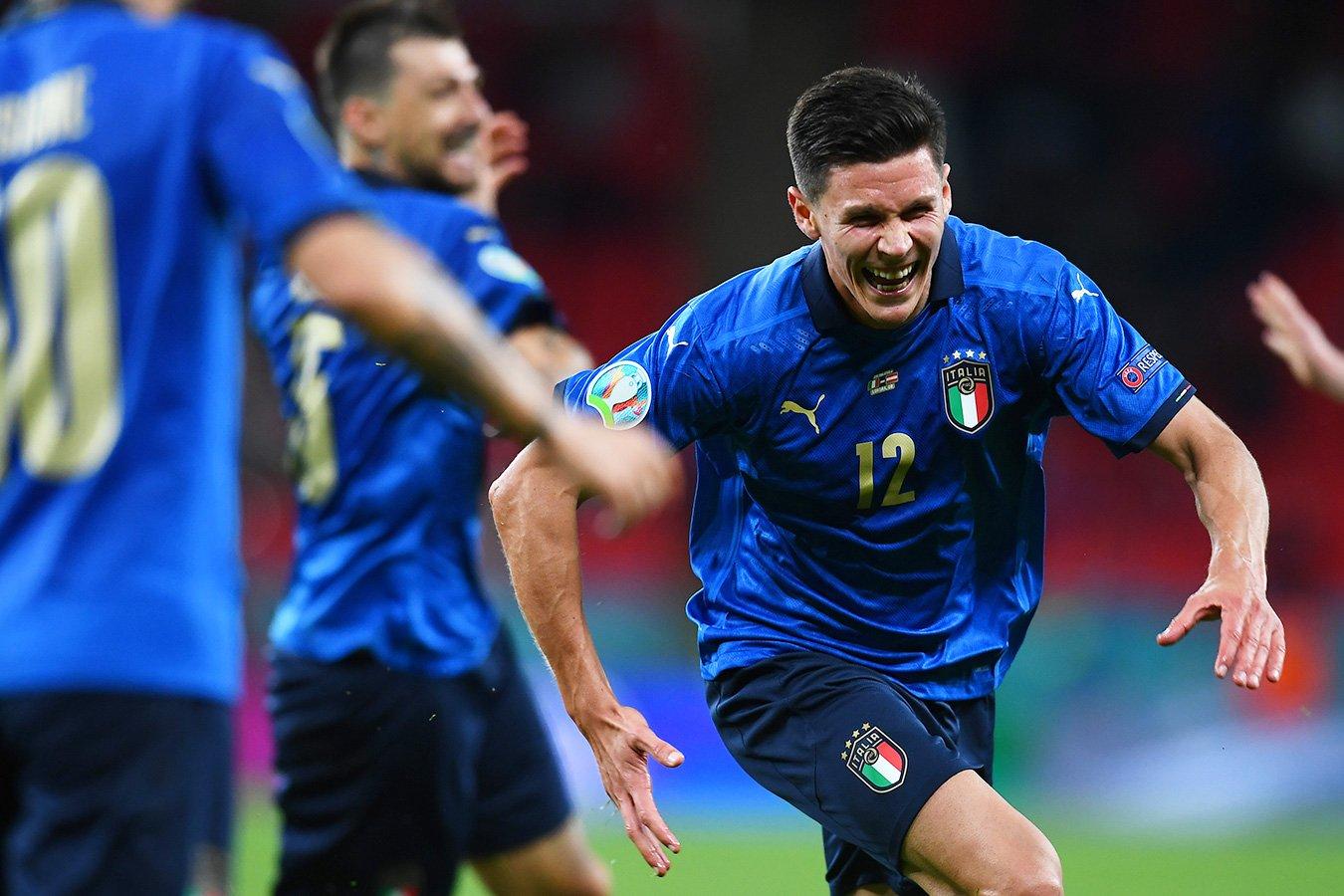 Италия обыграла Австрию в дополнительное время и вышла в 1/4 финала Евро-2020
