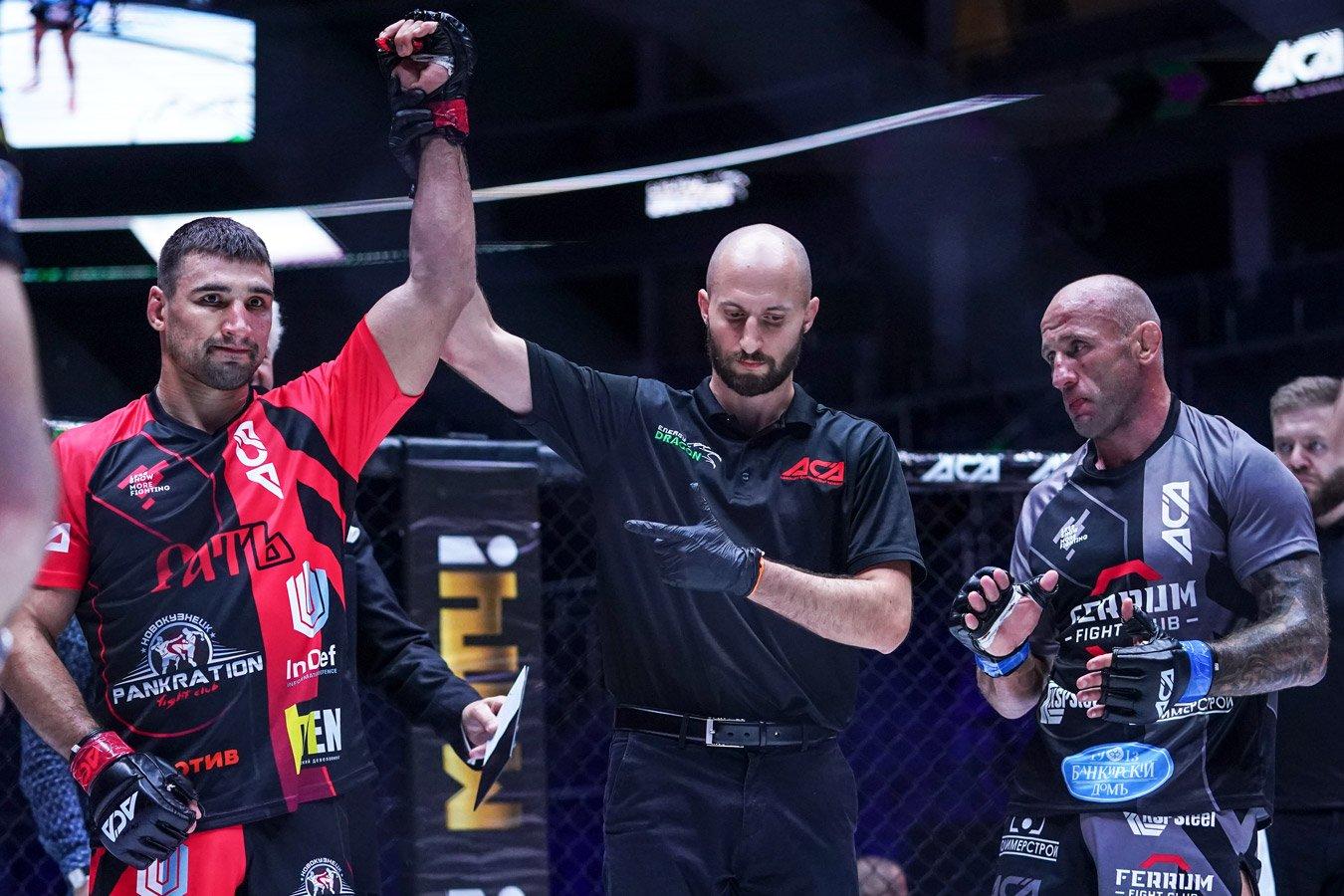 Кошкин нокаутировал Бутенко, Лопесу разбили лицо в кровь. Фото турнира АСА 123