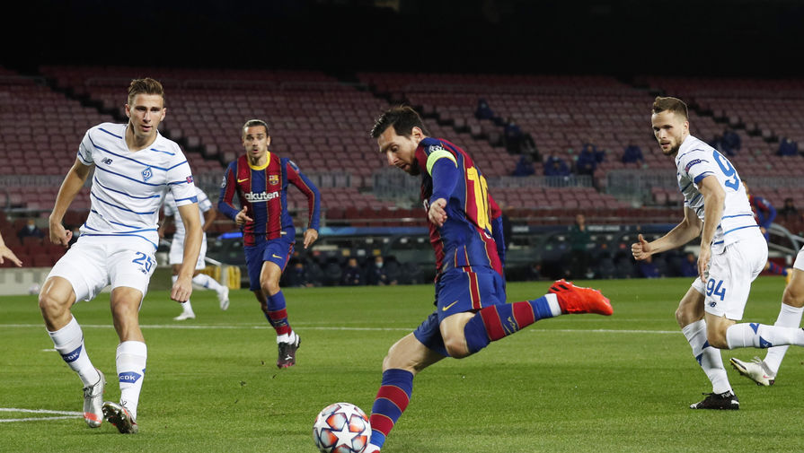 Нападающий 'Барселоны' забил впервые с октября 2019 года