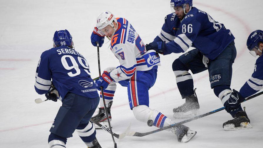 СКА победил московское 'Динамо' в пятом матче серии плей-офф КХЛ