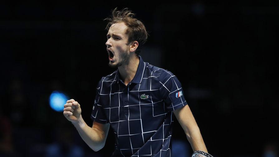 Медведев с нетерпением ждет матч против Надаля на Итоговом турнире ATP