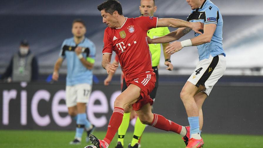 Форвард 'Баварии' Левандовски обогнал Рауля по числу голов в Лиге чемпионов