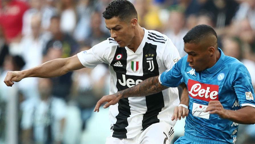 'Наполи' оказался сильнее 'Ювентуса' в матче Серии А