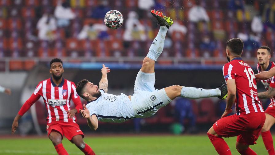 Форвард 'Челси' Жиру назвал заслуженной победу над 'Атлетико'