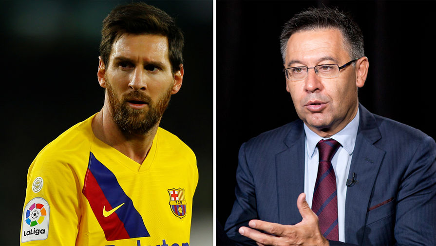Месси рассказал о лжи бывшего президента 'Барселоны'