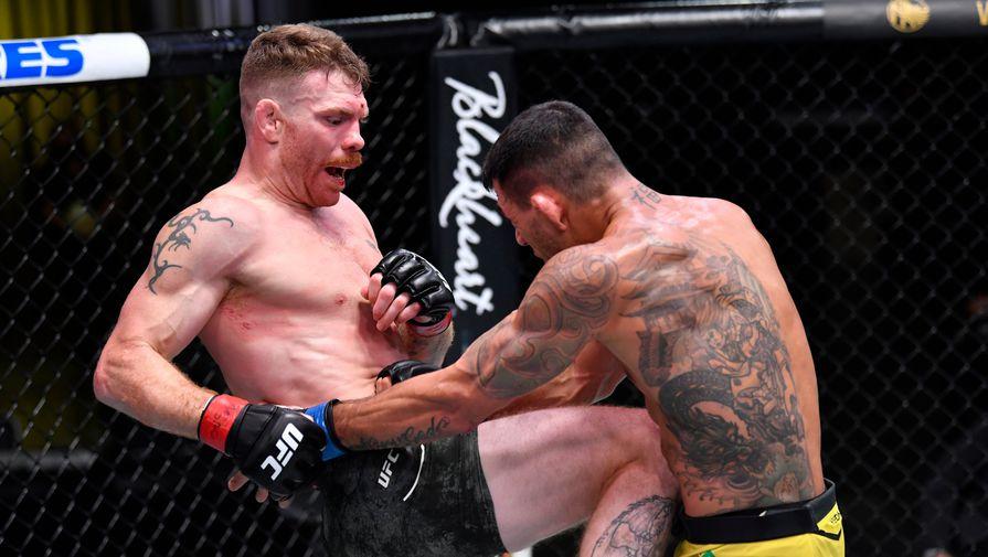 Дос Аньос победил Фелдера в главном бою турнира UFC Vegas 14