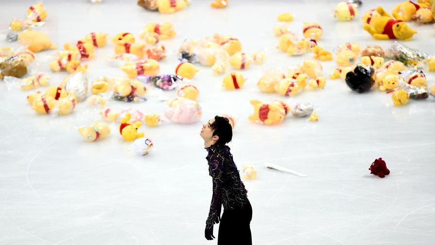 Юдзуру Ханю выиграл короткую программу на ЧМ, россиянин Коляда - четвертый