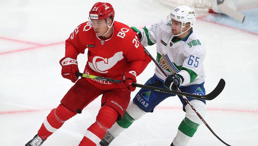 'Салават Юлаев' в серии буллитов обыграл 'Спартак' в матче КХЛ