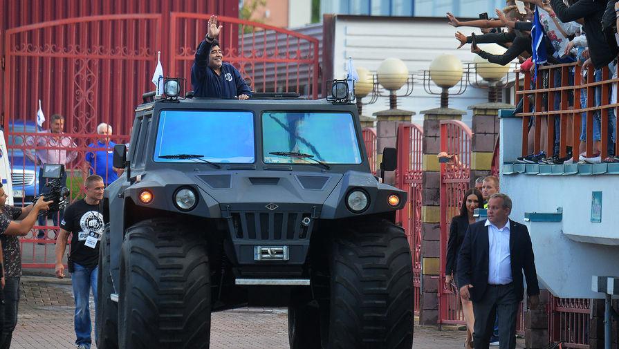 Нойок: народ в Бресте чуть не сдурел, когда Марадона приехал