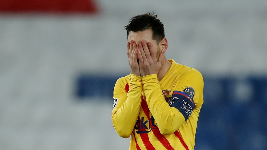 Месси не забил пенальти в ответном матче Лиги чемпионов против 'ПСЖ'