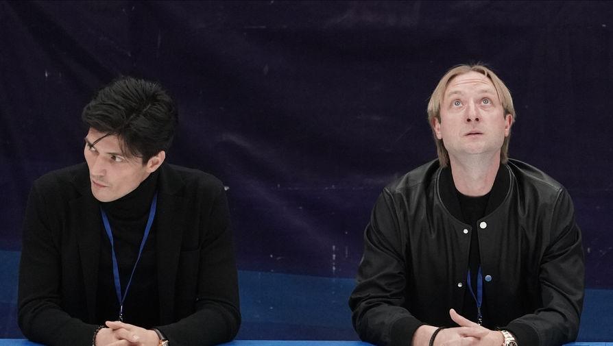 Плющенко поддержал сестер Авериных после скандала на ОИ в Токио