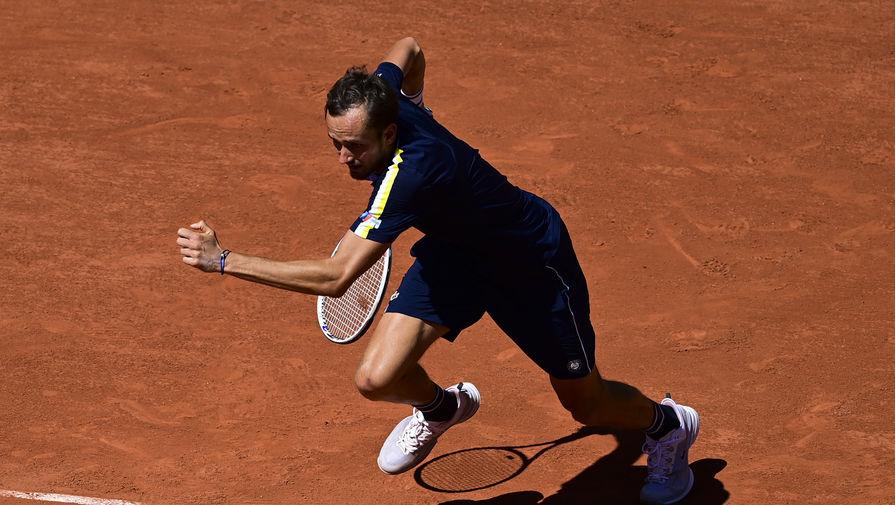 Россиянин Медведев впервые в карьере вышел в третий круг 'Ролан Гаррос'