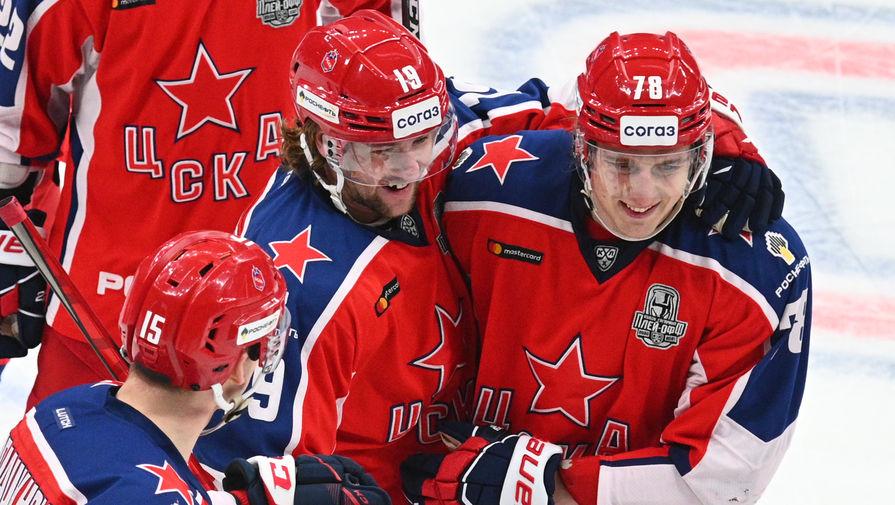 ЦСКА во второй раз обыграл СКА в финале Западной конференции КХЛ