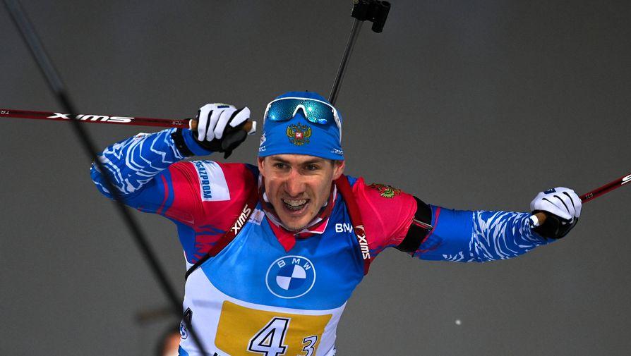 Стал известен состав российских биатлонистов на эстафету на этапе КМ