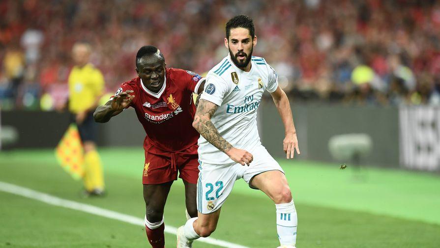 'Реал' обыграл 'Ливерпуль' в первом матче 1/4 финала Лиги чемпионов