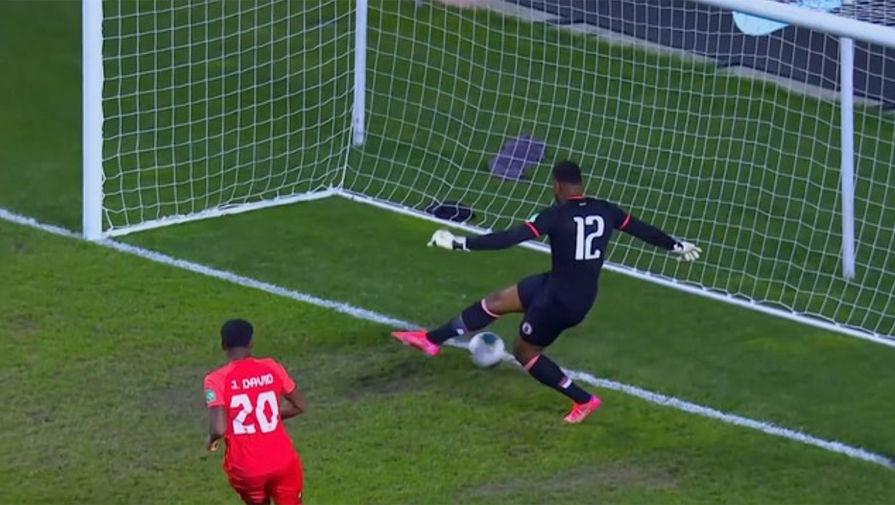 Вратарь сборной Гаити забил один из самых курьезных автоголов в истории