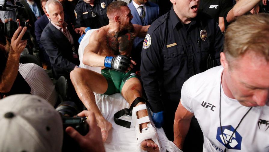 Макгрегор пожаловался на отсутствие поддержки после перелома ноги