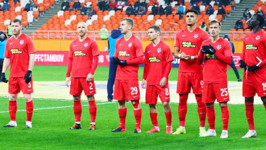 Группа игроков 'Тамбова' не выйдет на матч со 'Спартаком' после встречи с губернатором