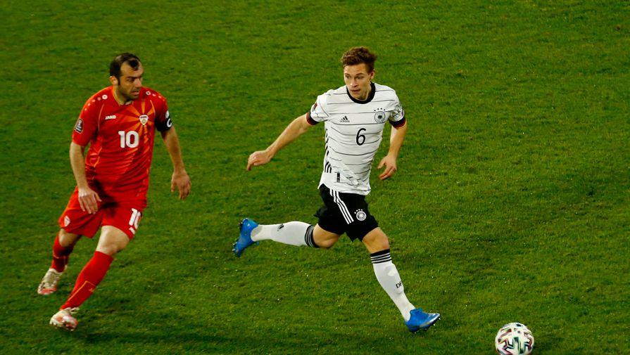 Хавбек сборной Германии не смог объяснить поражение от Северной Македонии