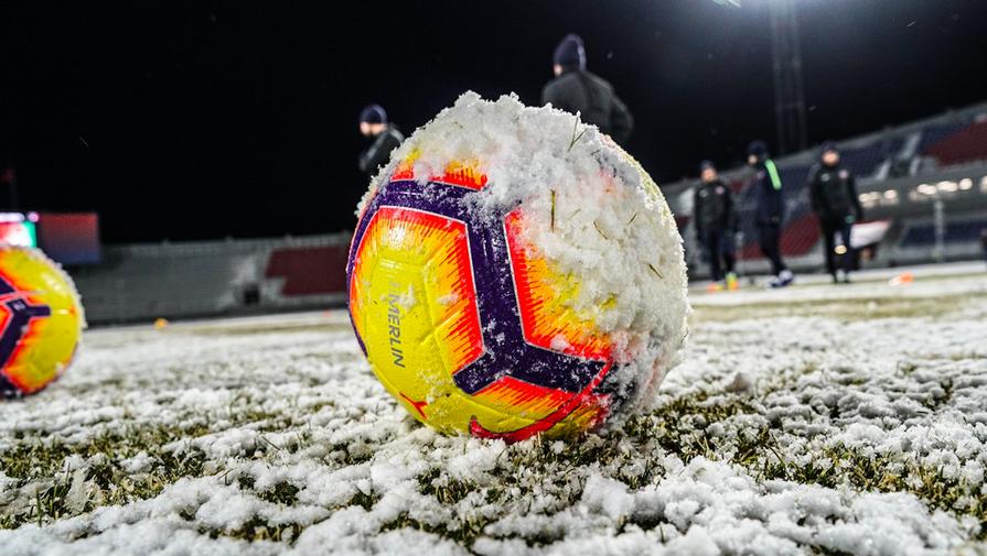 Матч чемпионата Испании перенесен из-за снегопада в Мадриде
