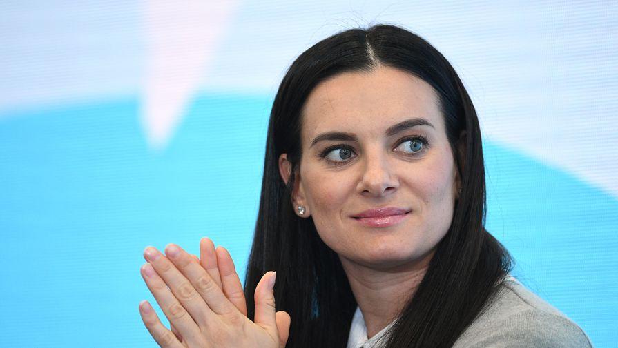 Исинбаева прокомментировала отстранение российских спортсменов