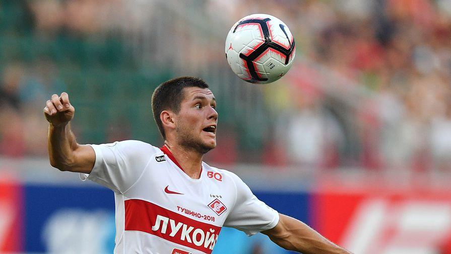 К полузащитнику 'Спартака' Ташаеву проявляют интерес несколько клубов