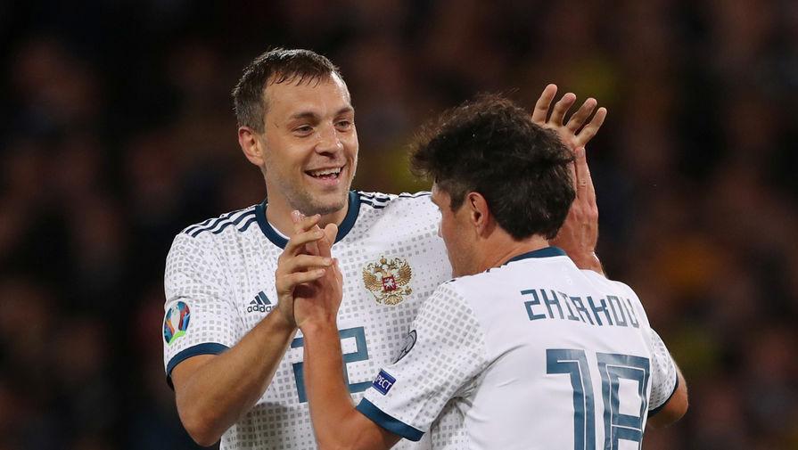 Жирков вышел на четвертое место по числу матчей за сборную России