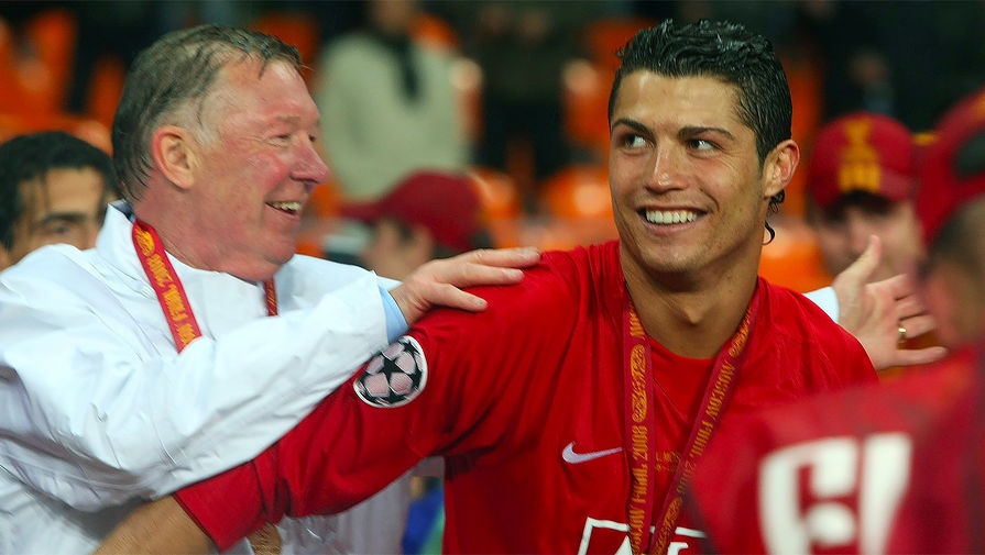 Экс-тренер 'МЮ' Фергюсон: не мог представить Роналду в форме 'Сити'