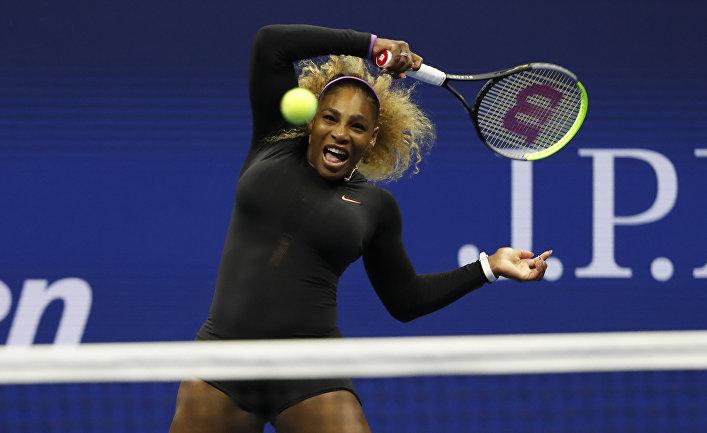 Серена Уильямс одолела Соболенко и вышла в 1/4 финала Australian Open