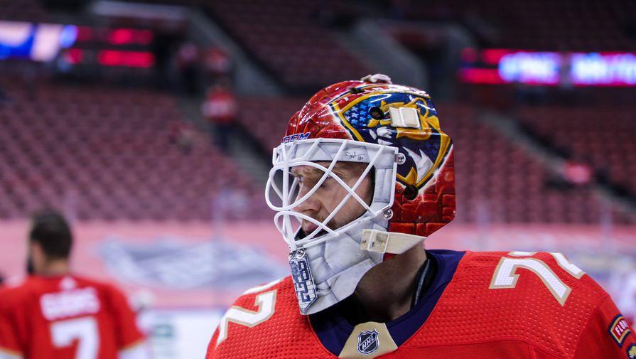 Бобровский помог 'Флориде' обыграть 'Тампу-Бэй' в матче НХЛ