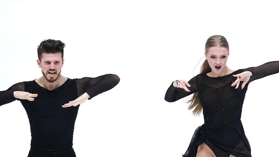 Степанова и Букин выиграли короткую программу на чемпионате России