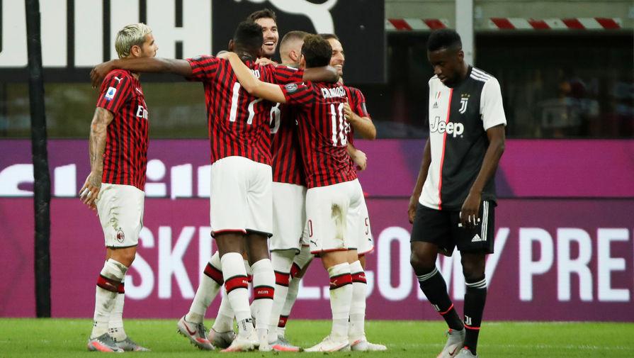 'Милан' остался единственной командой в Европе без поражений после самоизоляции